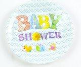 Plaque de gâteau de plaque de pique-nique de plaques de dîner