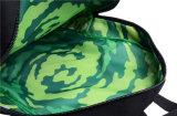 le coton 16oz avec la garniture de TDS 210d brodent le cartable de sac à dos de logo