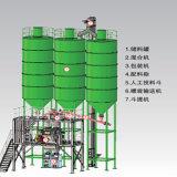 Linha de produção seca especial Containerized do almofariz da estrutura simples e compata