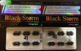 Pillules noires de vente chaudes de perfectionnement de sexe de pénis de tempête