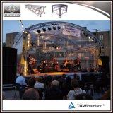 Braguero arqueado aluminio de la azotea de la etapa del concierto para la iluminación