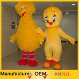 Большой желтый Costume плюша Costume талисмана птицы и птицы Tweety
