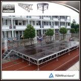 Alumínio portátil do fardo do estágio ao ar livre de qualidade superior para o evento