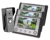 Inländisches Wertpapier-videoTürklingel mit 7 Zoll-Bildschirm IR-Version