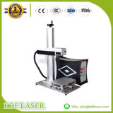 Mini metal e metalóide portáteis da máquina uma da marcação do laser da fibra para a venda