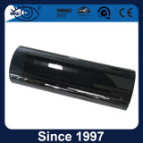 Película tingida solar do indicador de carro risco longo do preto da garantia do anti