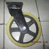 Sicheres haltbares zuverlässiges Gestell-Fußrollen-Rad für Aufbau