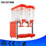 double machine de jus frigorifiée des boissons 36L fraîches par distributeur pour la barre
