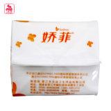Recevoir le sac absorbant intense de garnitures sanitaires de femmes de commande à façon légèrement