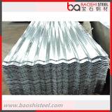 Горячая окунутая плитка крыши листа оцинкованной волнистой стали