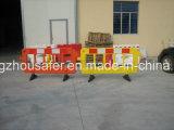 Rojo, Amarillo Color de carretera Barrera con Ingeniería Reflectice Tape (S-1644B)