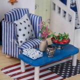Mini hölzerne Spielzeug-Möbel-Schlafzimmer-Sets