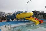 물 공원 조합 물 미끄럼 장비