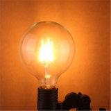 lampe d'ampoule de filament de 4W 6W 8W G80