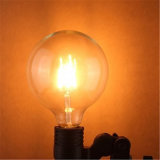 lámpara del bulbo del filamento de 4W 6W 8W G80