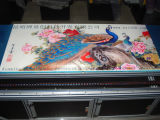 A3 impresora ULTRAVIOLETA de la baldosa cerámica de la talla los 28*60cm LED