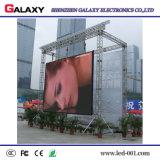 Parete fissa affitto esterno di colore completo LED la video per uso della fase con di alluminio il Governo della pressofusione