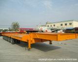 Semitrailer super do veículo da base de 2 eixos baixo