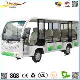 7.5kw電気観光バス14シート旅行の乗用車の観光地の手段