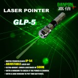 Danpon 녹색 Laser 포인터 Laser 점 조정가능한 200m 눈에 보이는 범위