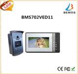 Telefone video da porta de um Wird de 7 polegadas com intercomunicador do Doorbell