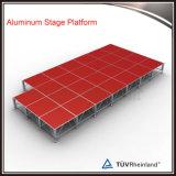 Piattaforma acrilica portatile di alluminio di vendita calda della fase di ballo 2017 per l'evento