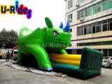 子供のためのスライドを持つRihinoの膨脹可能な警備員