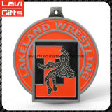 Medaglia antica su ordinazione di Jiu-Jitsu del metallo dell'oro di prezzi di fabbrica