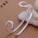 Оптовым браслет ювелирных изделий способа покрынный серебром открытый для человека