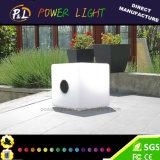 Cubo illuminato variopinto della mobilia LED di RGB LED