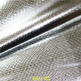 Het in reliëf maken van van de Slang het Synthetische Pu Leer van de Korrel voor Schoenen en Zakken