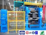 고무와 PVC 제품 (XY-4I 2430)를 만드는 고무 4 롤 달력