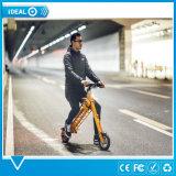 Logo de personnalisation de qualité pliant le meilleur modèle de vélo électrique multicolore