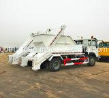 Carro de basura del cargamento del salto de SINOTRUK, carro del cargador del salto