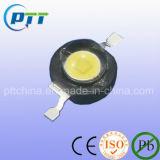 LED haute puissance blanche 1W, 8000-40000k, 120-130lm, 140-150lm, OEM