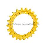 Maquinaria de construção da borda do segmento da estrutura da roda dentada PC60-6 PC40 Swe70 da máquina escavadora
