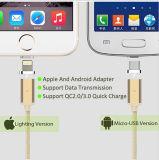 Магнитный кабель Sync данным по USB Micro для кабеля обязанности iPhone