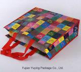 Sacchetto non tessuto Colourful del Tote con il formato personalizzato