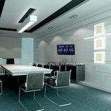 Reloj de pared de control de la función LED Digital de hora de radio y de la fecha