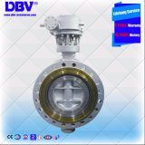 Triple industrialist Offset Low Temperature Flange Butterffly Valve