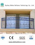 Clôture anti-corrosive assemblée facile de balcon