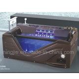 コーヒーカラー浴室のSanitarywareの贅沢な渦のアクリルの浴槽(5208)