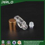 3ml는 방취제 패킹 기름 병에 알루미늄 모자 3ml 유리제 롤을%s 가진 유리제 작은 유리병 빈 장식용 향수 유리병을 지운다