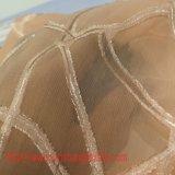 Ткань ткани жаккарда полиэфира покрашенная тканью химически сплетенная тканью для тканья дома одежды детей юбки пальто платья женщины