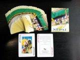 Tarjetas que juegan de visita turístico de excursión del póker de Nepal