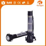 Lanterna elétrica solar Multi-Functional da faca de estaca da lanterna elétrica do martelo da segurança com carregador do USB