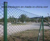 Ярд высокия уровня безопасности ограждая используемую ячеистую сеть загородки звена цепи