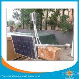 Réverbère solaire de batterie au lithium