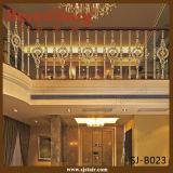ヨーロッパ式の贅沢なアルミニウム階段手すりか階段手すり(SJ-B040)