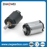 Pequeño motor de engranaje de CC de baja tensión de 8mm con caja de cambios
